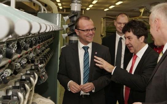 Hlad po strojírenských profesích pociťuje i výrobce textilních strojů, který je významným zaměstnavatelem na Orlickoústecku. Hejtman se zajímal o situaci