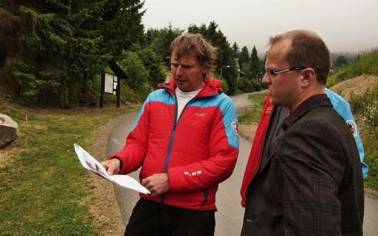 Půl milionu jako impuls pro stavbu stanice horské služby v Čenkovicích