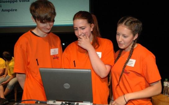 Finále soutěže o energetice Hra o liščí ohon dominovaly dívky