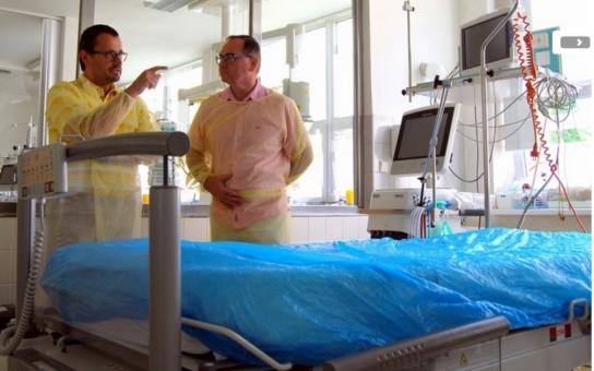 Do Nemocnice Pardubického kraje proudí moderní přístroje. Už to bylo opravdu kritické!