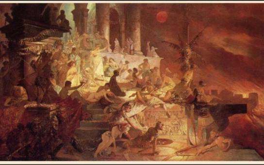 Vášeň a zločin... Kvůli císaři a tyranovi si Německo vyžádalo obraz Alfonse Muchy z hradecké galerie. Totéž už chtěli i Japonci