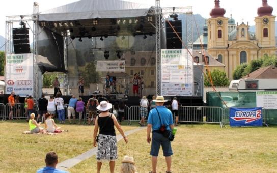 Pestrý program Hejnických slavností uspokojil dospělé i nejmenší návštěvníky