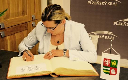 Plzeňský kraj byl třetí v pořadí. Ministryně Karla Šlechtová zavítala do Evropského města kultury