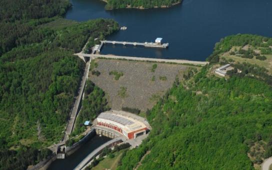 Dalešickou přečerpávací vodní elektrárnu řídí nový systém kontroly a řízení
