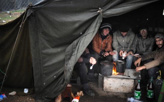 Policie zadržela skupinku nelegálních migrantů na jižní Moravě, bylo mezi nimi i miminko. Hejtman ocenil dobrou práci policie