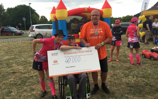 Aplikace EPP Pomáhej pohybem splnila přání handicapovaným sportovcům z Liberecka. Přečtěte si jejich příběhy