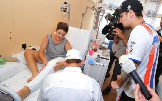 Dukovanská elektrárna a Masarykův okruh společně s Nadačním fondem NIKÉ pomáhají pacientům ze ZŠ při dětské nemocnici FN Brno
