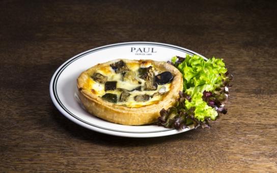 Quiche, francouzská klasika! Od září do listopadu přináší síť pekařství Paul speciální nabídku těchto slaných koláčů