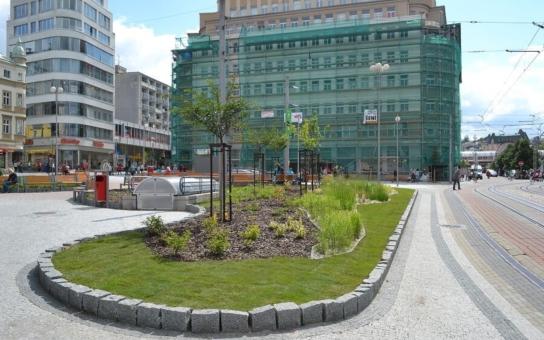 Soukenné náměstí v Liberci bude opraveno již letos. Vrátí se na ni osvědčené žulové kostky