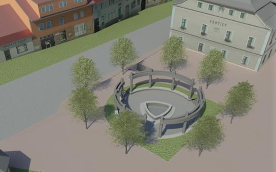 Křižanov na Vysočině odhalil památník sv. Zdislavy. Na slávu se přijeli podívat ministr či herečka, která ochránkyni rodiny ztvárnila ve filmu