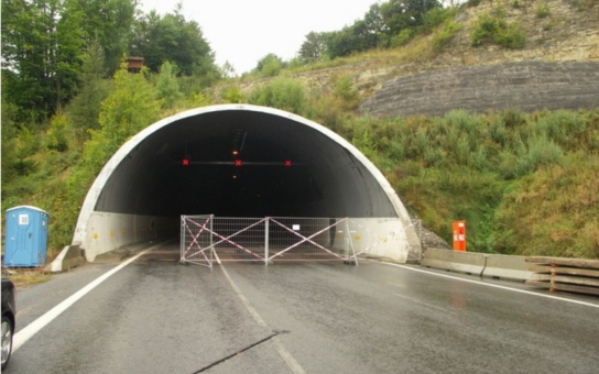 Důležitá zpráva pro řidiče: Hřebečský tunel bude na tři dny uzavřen