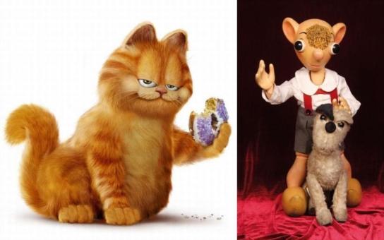 Hurvínek, nebo kocour Garfield? Nová napínavá dobrodružství prožívají oba, stačí se jenom začíst