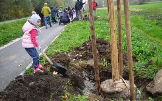 Letos se v Bukovci narodilo 28 dětí. Každému z nich rodiče vlastnoručně zasadili strom