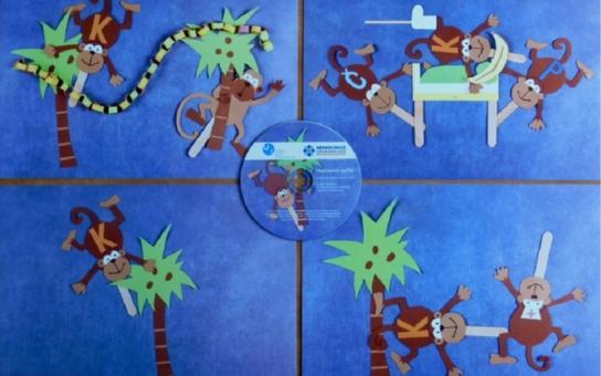 Neposedný opičák Kiki poučí děti v nemocnici, jak příště předcházet úrazům. Za nápadem stojí bakalářská práce