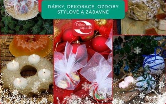 Připadají vám vánoční dekorace na trhu na jedno brdo? Vlastní originály dokáže i úplný začátečník