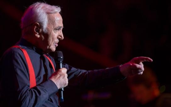Charles Aznavour poprvé v Česku. Legendární francouzský šansoniér bude 6. dubna v Kongresovém centru Praha