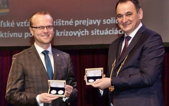 Hejtman Netolický převzal nejvyšší vyznamenání Prešovského kraje