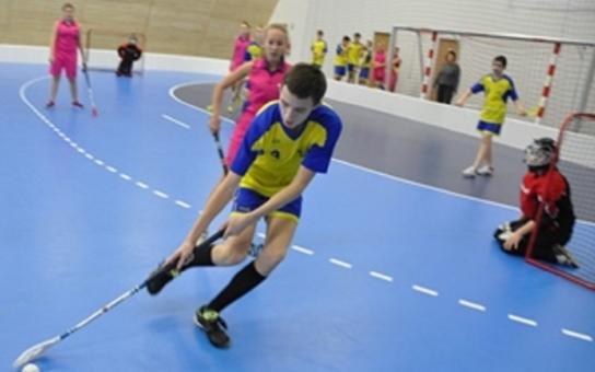 Centrum s parametry pro olympijské halové sporty si užijí i děti při tělocviku. Vyrostlo za jediný rok