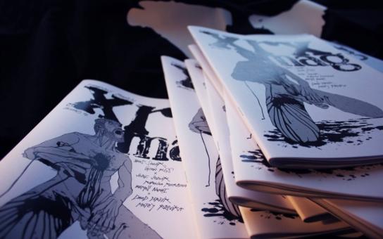 Prvotní časák XEROX vznikl jako výsledek týdenního komiksového workshopu, ten vedl Vladimir 518, prozradili autoři nového časopisu, který už je mnohem dál