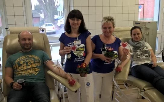 Darovali krev přímo na svátek lásky. Valentýnské odběry přilákaly šest desítek nových dárců. Za jeden den dorazilo tolik prvodárců, jako jindy za celý rok