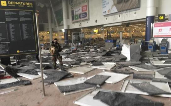 Jsou dnešní teroristické útoky v Bruselu islamistickou ´odplatou´ za zatčení hnusného zbabělého vrahouna Abdeslama? Nejméně 13 mrtvých je na letišti, další bomby v metru mají 10 obětí