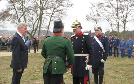 """Bílá věž je na turistickou sezónu připravena, návštěvníci se mohou těšit na nový prohlídkový program. Projekt """"Königgrätz 150"""", který připomíná bitvu u Hradce Králové, se již představil v Bavorsku"""