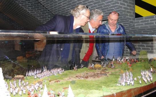 Expozici generála Laudona si poprvé prohlédli jeho potomci z Vídně. Nenechají si ujít ani oslavy 300. výročí narození slavného vojevůdce