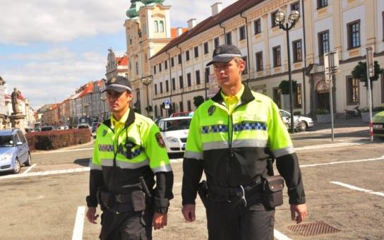 Okrskáři z řad strážníků působí v Hradci Králové již deset let. Je mezi nimi i jedna žena, která působí v historickém centru