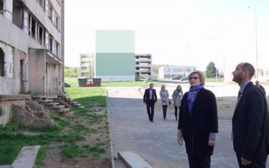 Město Most žádá o dotaci z MMR na demolici panelového bloku na sídlišti Chanov