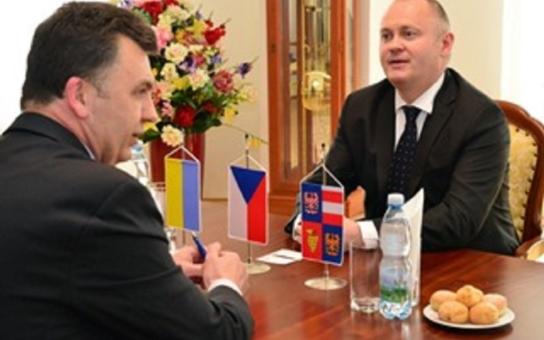 Hejtman Hašek přijal ukrajinského konzula. Proč probírali někdejšího českého prezidenta Václava Havla?