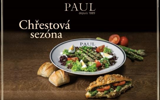 Sezona čerstvého chřestu v pekařství PAUL právě začala. Dobrou chuť!