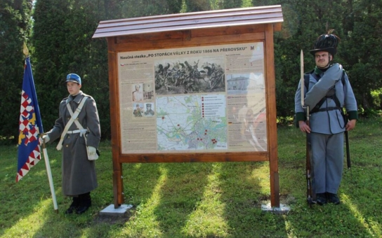 U Přerova tekla krev proudem. K 150. výročí prusko-rakouské války vybudovalo město novou naučnou stezku, která informuje o bojových operacích v okolí a také o epidemii cholery