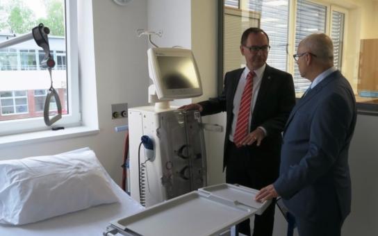 V chrudimské nemocnici vzniklo jedno z nejmodernějších dialyzačních středisek v České republice