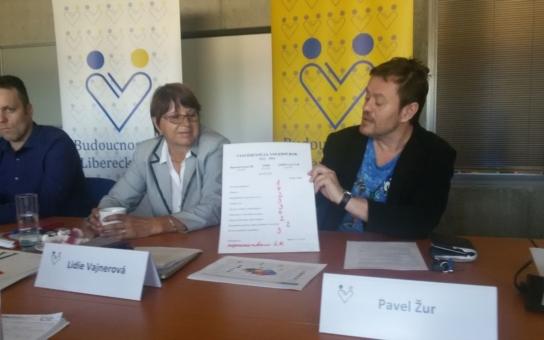 'Vláda' Libereckého kraje, tvořená koalicí Starostů pro Liberecký kraj a sociálních demokratů, dostala od opozice vysvědčení. Nejlepší je chování, nejhorší doprava a zdravotnictví