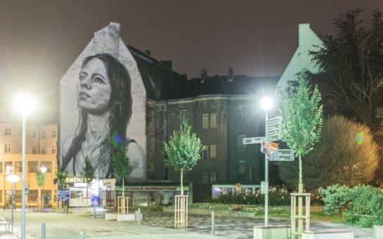 Fasádu bývalého obchodního domu v Ostravě zdobí unikátní malba světoznámého umělce. Zřejmě největší streetartové dílo v Česku autor vytvořil za méně než třicet hodin