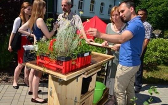 Lipka v Brně otevřela novou terapeutickou zahradu a představila specialitu: Floramobil neboli záhon na kolečkách