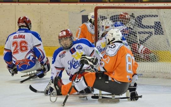Jihočeští handicapovaní hokejisté se chystají na novou sezónu. Sledge hokej, který je považován za nejtvrdší sport vozíčkářů, jim pomáhá překonávat obtíže a zvyšovat fyzičku