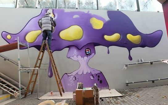 Radnice v Havlíčkově Brodě se snaží reagovat na podněty občanů. Sedm předních českých umělců, věnujících se street artu, přetvořilo zanedbaný podchod v umělecké dílo