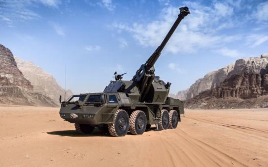 Modernizovaná samohybná houfnice DANA M1M se představila na Tankovém dni v Lešanech