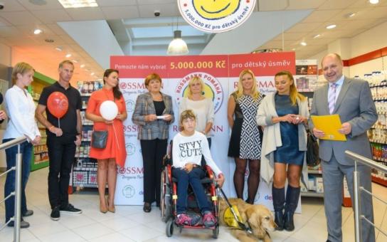 Za jeden týden 5 milionů korun! ROSSMANN spustil kampaň na podporu vážně nemocných dětí