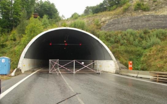 Hřebečský tunel bude na tři dny uzavřen kvůli pravidelné údržbě. Pozor, platí to ode dneška!