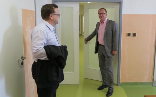 Svitavská poliklinika září novotou, a to i uvnitř. Má to ale také svou stinnou stránku, kvůli které pacienti a zdravotníci musejí být trpěliví