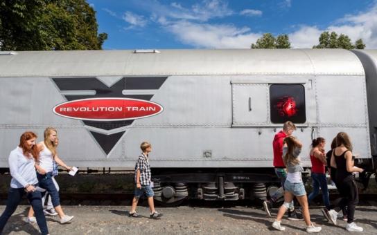 Unikátní český protidrogový vlak zastaví cestou do Německa v Chomutově. Tentokrát se ve městě zdrží od 2. do 3. listopadu