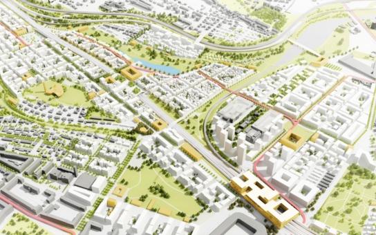 Slatiny jako třicetitisícové město? Praha 10 představí urbanistickou studii; její veřejná autorská prezentace bude již 2. listopadu