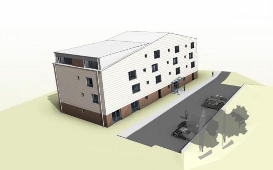 Stavba Komunitního domu pro seniory v Novém Městě na Moravě je plném proudu. Žádosti o bydlení bude možno posílat od ledna 2017