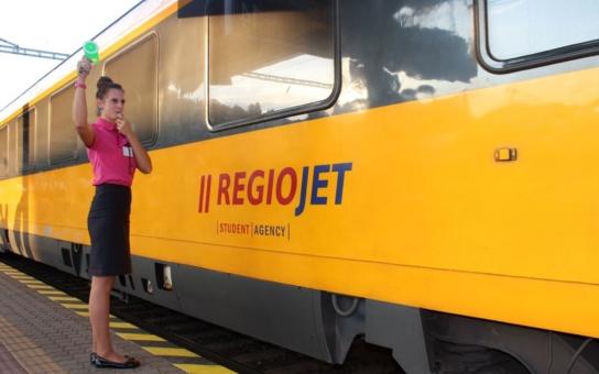 Oficiálně potvrzeno: Břeclav, Brno a Prahu spojí RegioJet třikrát denně v obou směrech a Bratislavu s Prahou dvakrát denně. Novinkou je i přímý spoj z Prahy do Hodonína a Moravského Písku