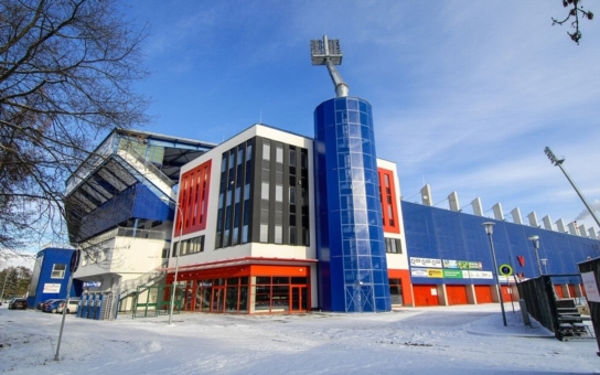Plzeň zrekonstruovala hlavní tribunu svého stadionu, hotové jsou i dvě věže. Nyní může Doosan Aréna hostit i mezinárodní mistrovství