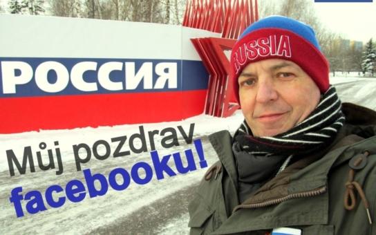 Měl profil na Facebooku a psal o Rusku, během let uveřejnil přes osm tisíc fotek, které prý změnily názor spousty lidí. Zablokovali mě, zrušili mě, vzkazuje folowerům