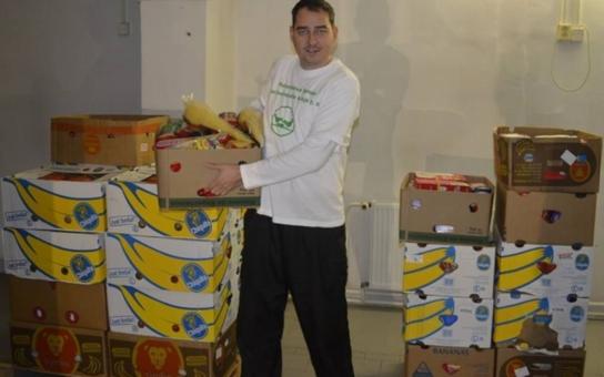 Rok ostrého provozu má za sebou Potravinová banka Karlovarského kraje. Přerozdělila již sedmnáct tun jídla
