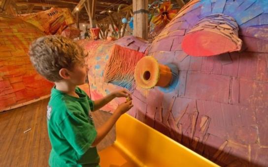Do písecké  Sladovny se už nastálo vrací úspěšná interaktivní expozice Mraveniště. Tentokrát už nebude z papíru, ale ze dřeva